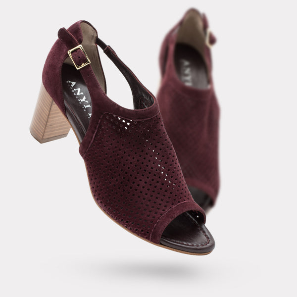 The Zoe - Bordeaux Suede