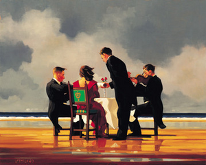 Elegy for the Dead Admiral - Jack Vettriano