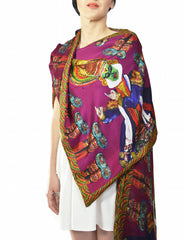 Kathakali Double Layer Stole
