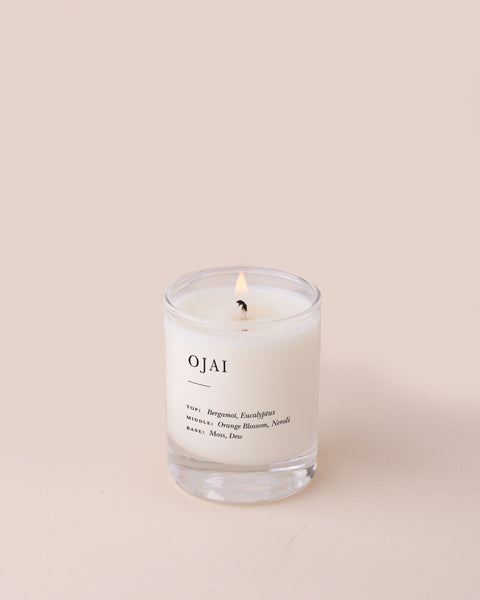 Ojai Escapist Votive Candle Escapist Collection Brooklyn Candle Studio
