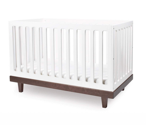 oeuf arbor crib walnut
