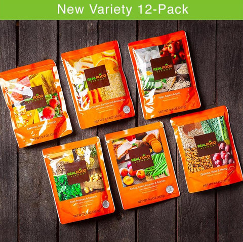 Variety Pack (2 of each meal - 12 meals total)