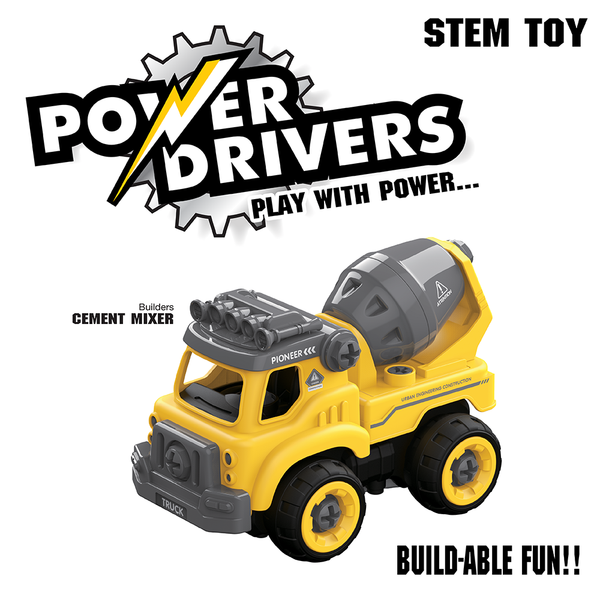 Power Drivers Builders: Cement Mixer