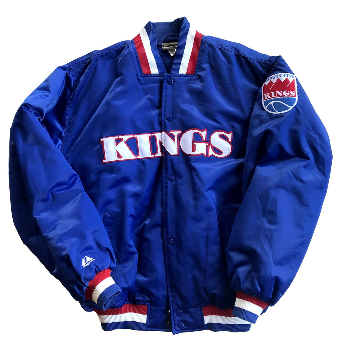 WESTSIDE STOREY VINTAGE | KANSAS CITY KINGS MAJESTIC JACKET