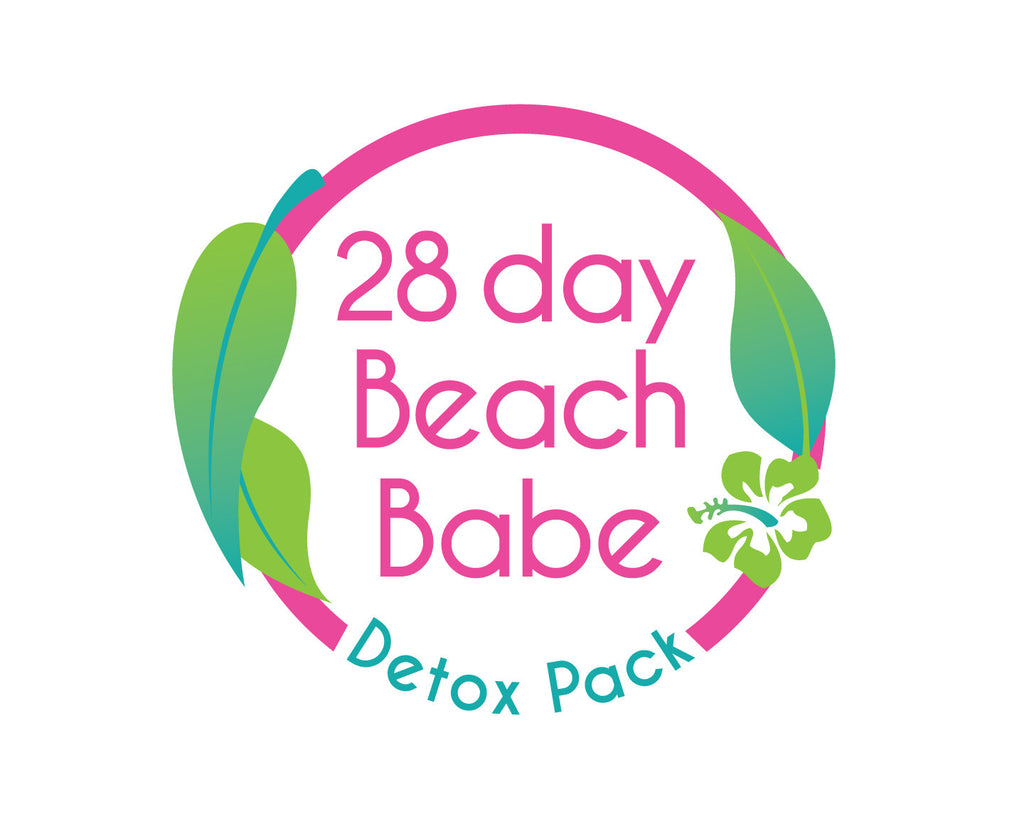Beach Babe Detox Pack - 28 Days - Beach Babe Tea