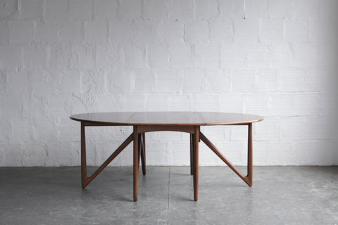 Niels Koefoed Gate Leg Dining Table