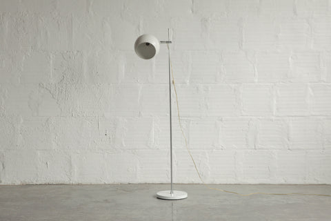 White Bubble Floor Lamp