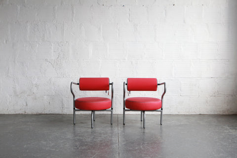 Post-Modern Danish Lounge Chairs