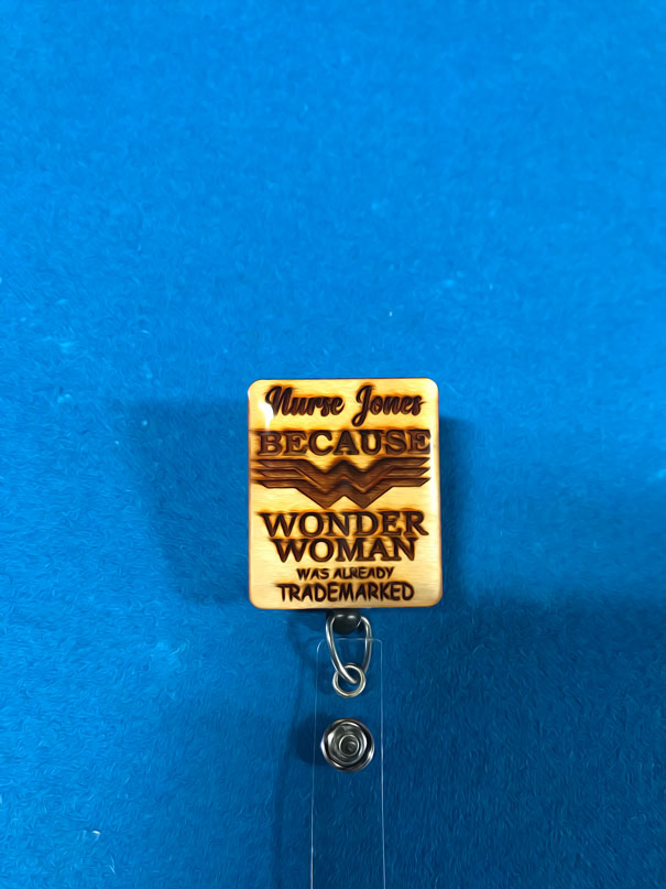 WonderNurse Badge Reel