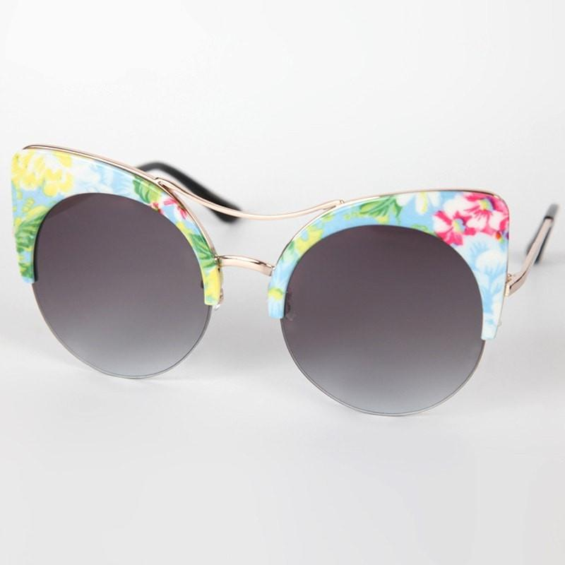 Festival Clubmaster Cat Sunglasses