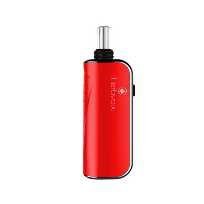 Airistech Herbva X 3-in-1 Herb Concentrates Oils Vaporizer Cannabis Weed Pot Convection Red Herbva X kit comes complete with three extra bullets, one for dry herb, one for wax and one for oil