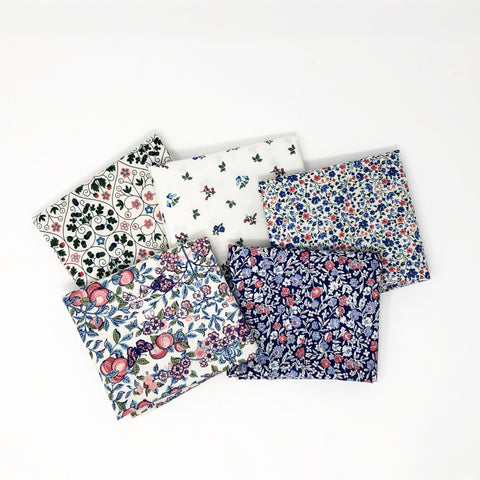 Liberty Fat Quarter Bundle - Blue Orchard