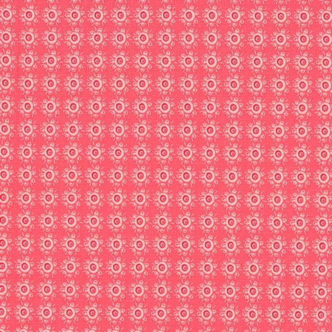 Michael Miller Hedge Hugs - Rough Around the Hedges Coral 100% Cotton Fabric
