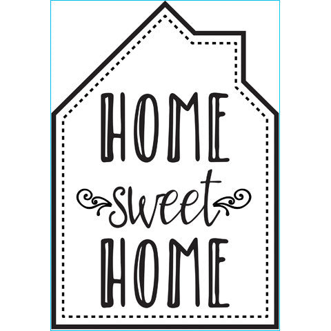 Darice Iron-on Transfer - Home Sweet Home