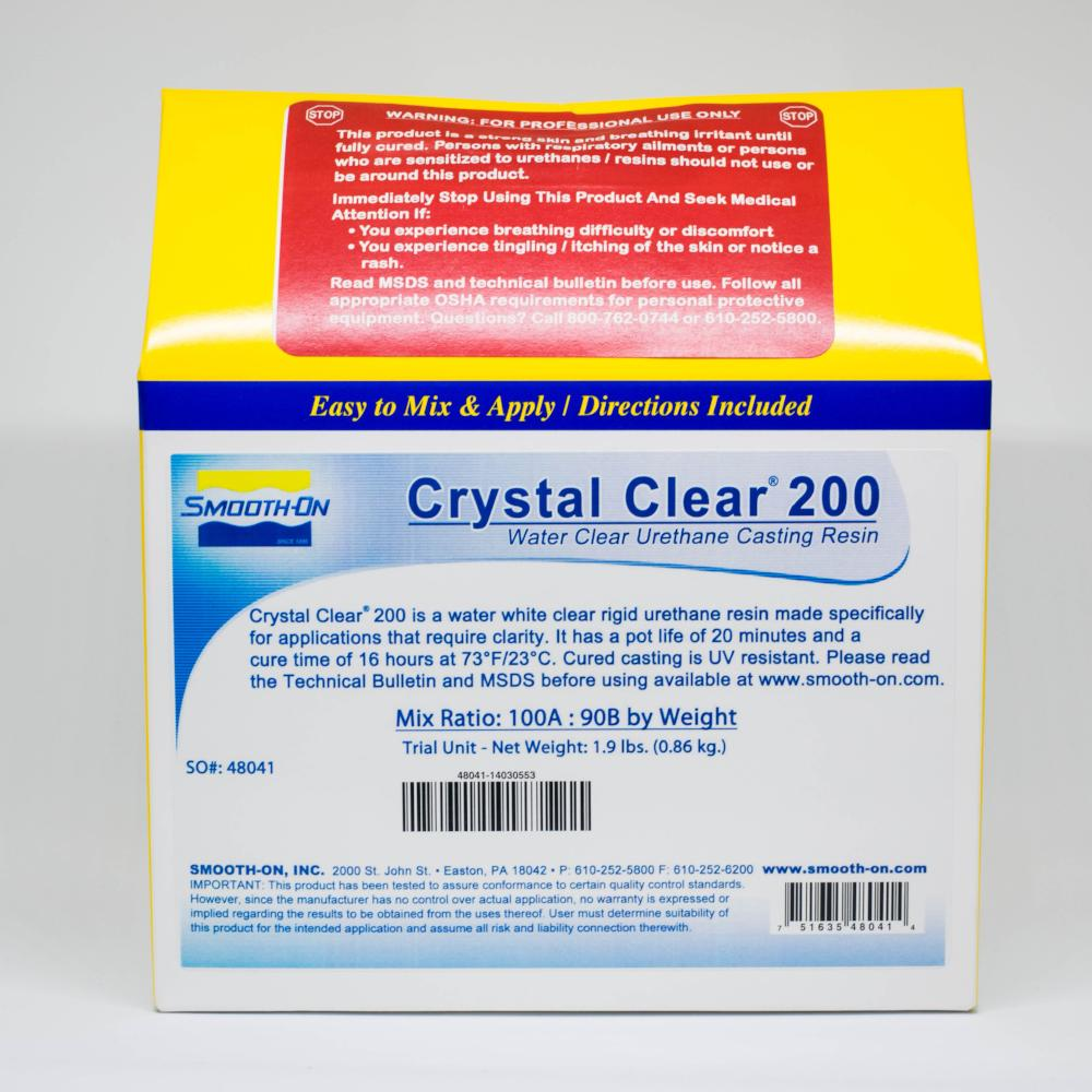 Resins And Plastics Etc - Crystal Clear
