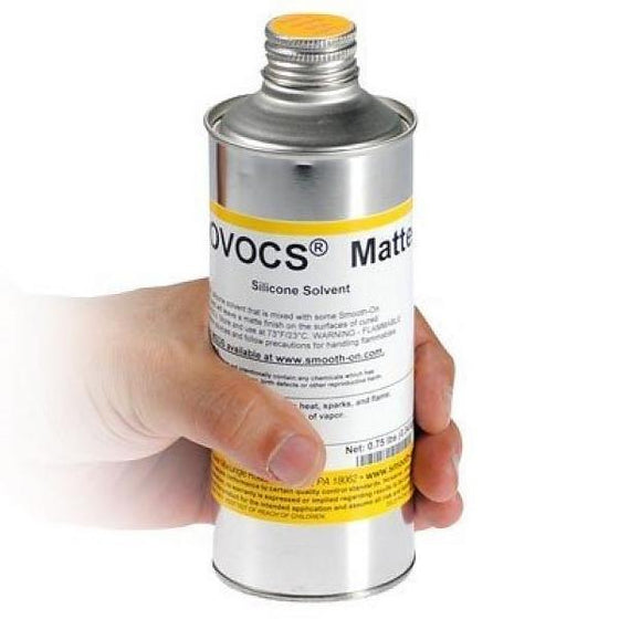 Smooth-On NOVOCS Matte and Gloss - Silicone Solvents