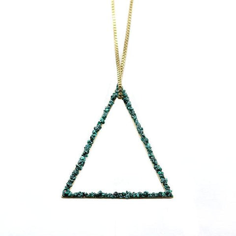 Mashallah Triangle Necklace
