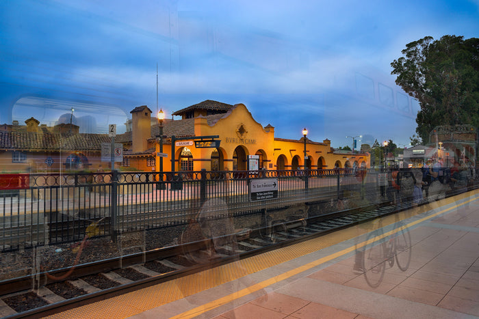 burlingame train station