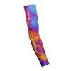 Kaboom Orange Blue  Shooting Arm Sleeve
