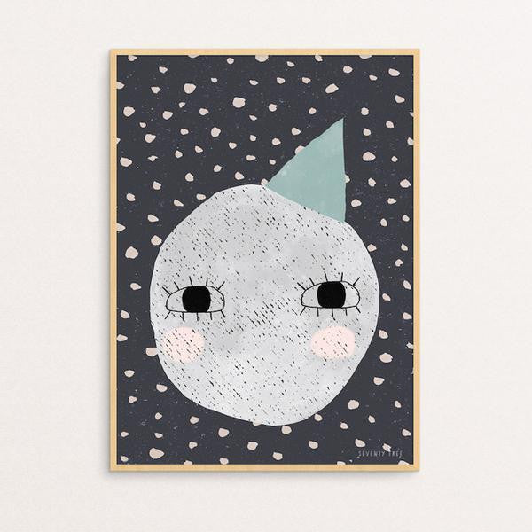 SEVENTY TREE - ANOTHER CUTE MOON PRINT
