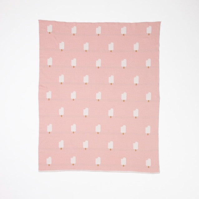 WOOUF PINK ICE CREAM BLANKET