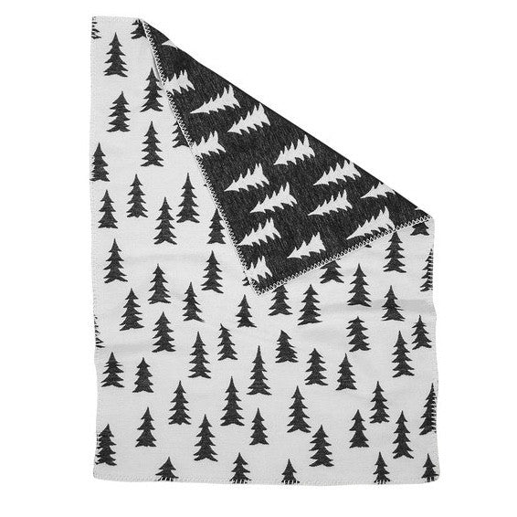 FINE LITTLE DAY GRAN WOVEN CHILD BLANKET - BLACK/WHITE - Ivy Cabin