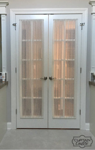 Sheer door panels