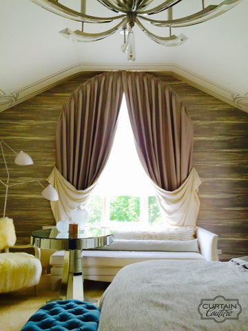 Arched Top panels by Anthony Michaels Interiors & Curtain Couture