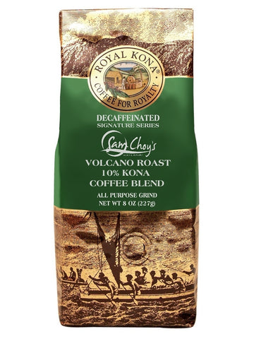 Sam Choy's Volcano Roast DECAF 8 oz