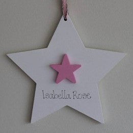 Girls Double Hanging Star