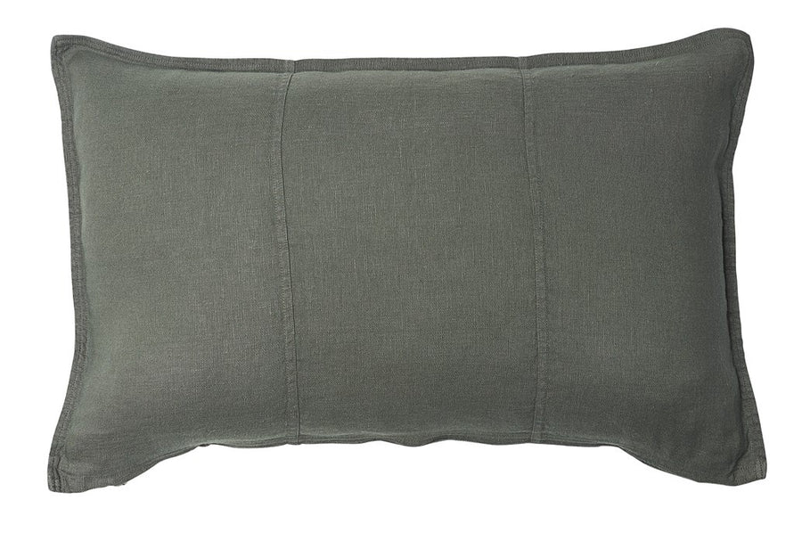Pre Washed Linen Cushion 40x60 Khaki