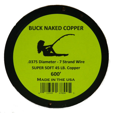 Buck Naked Copper Wire Line