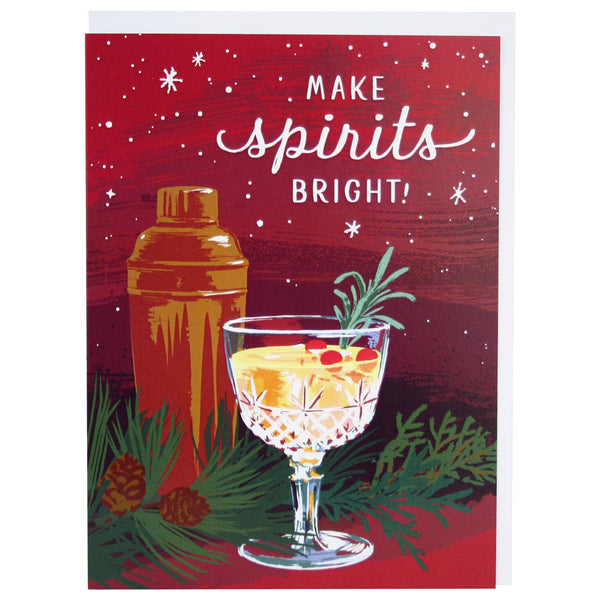 Cocktail Holiday Card