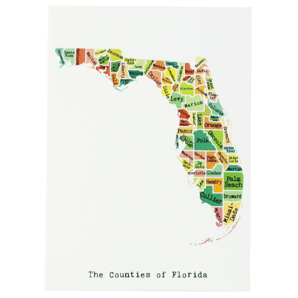 Florida Note Card