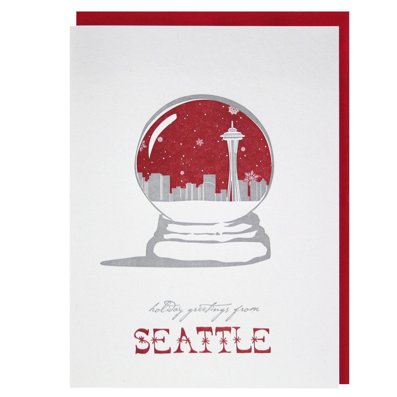 Holiday Greetings from Seattle Card