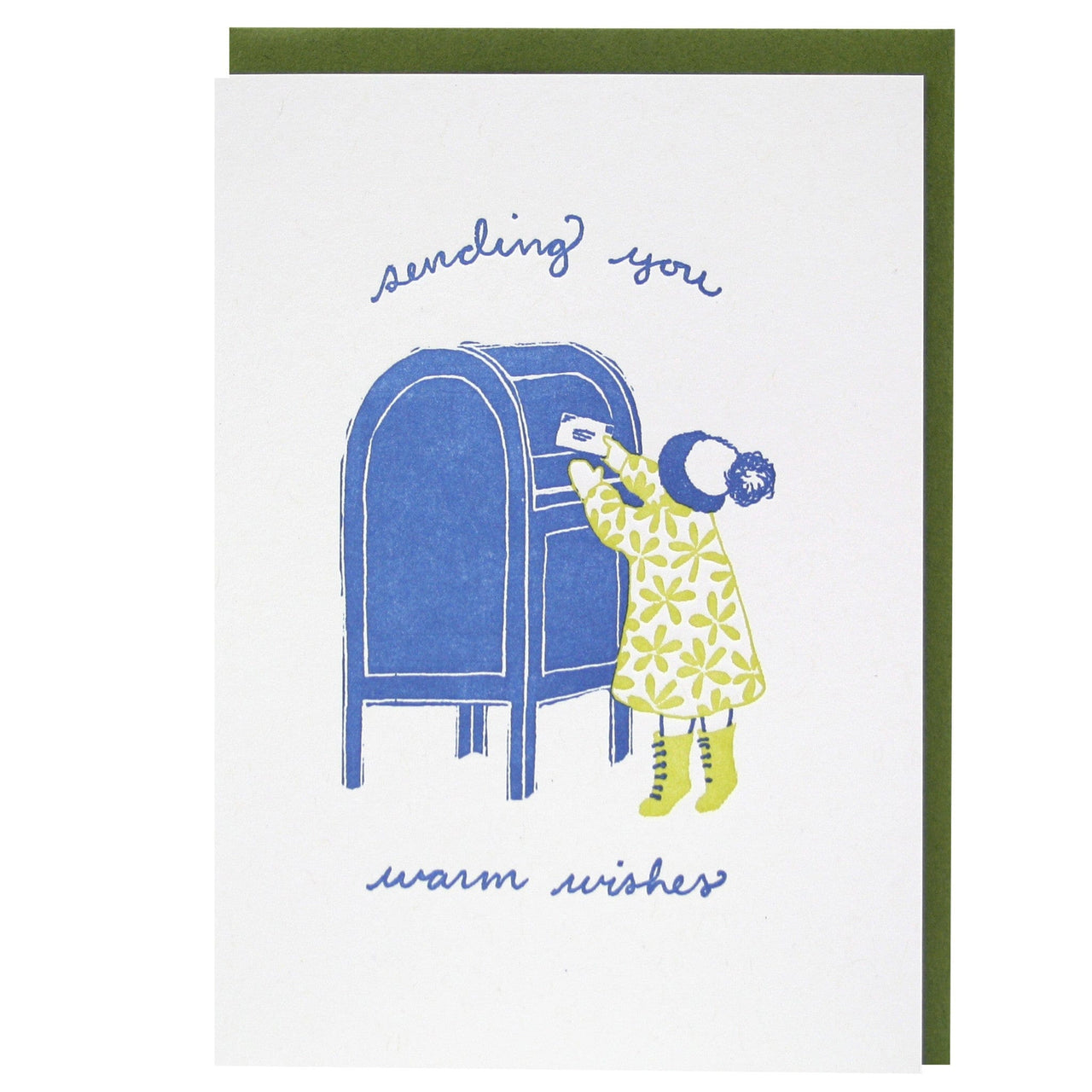 Little Letter Writer Holiday Card