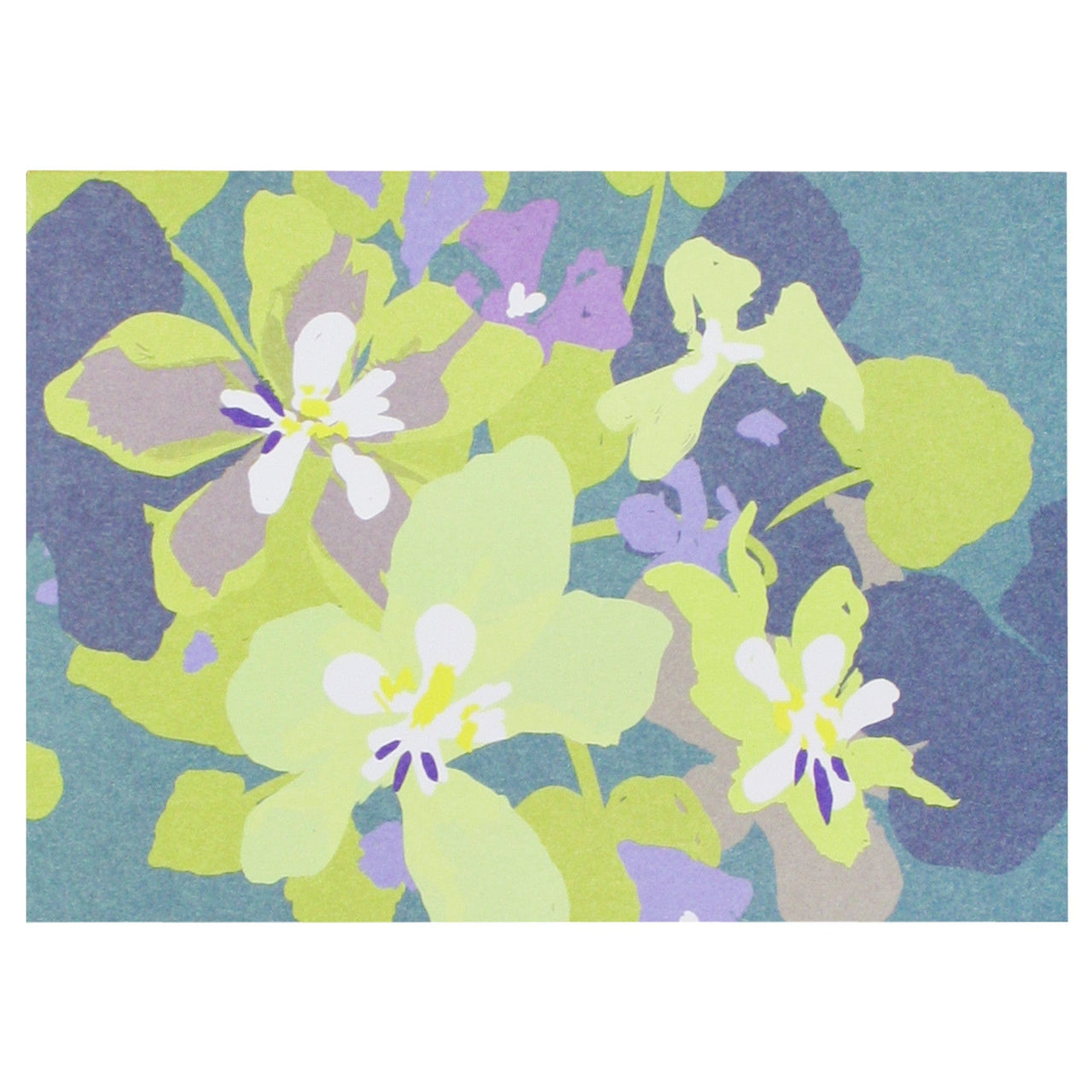 Pansies Boxed Note Cards