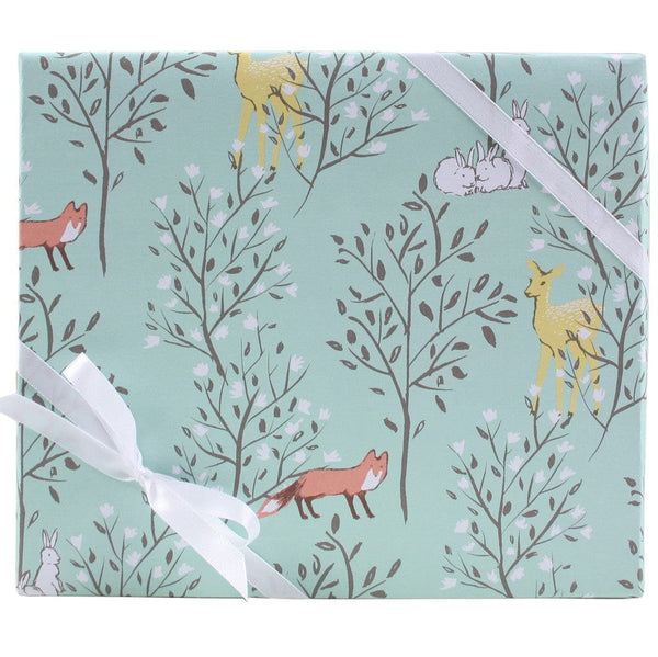 Springtime Animals Gift Wrap