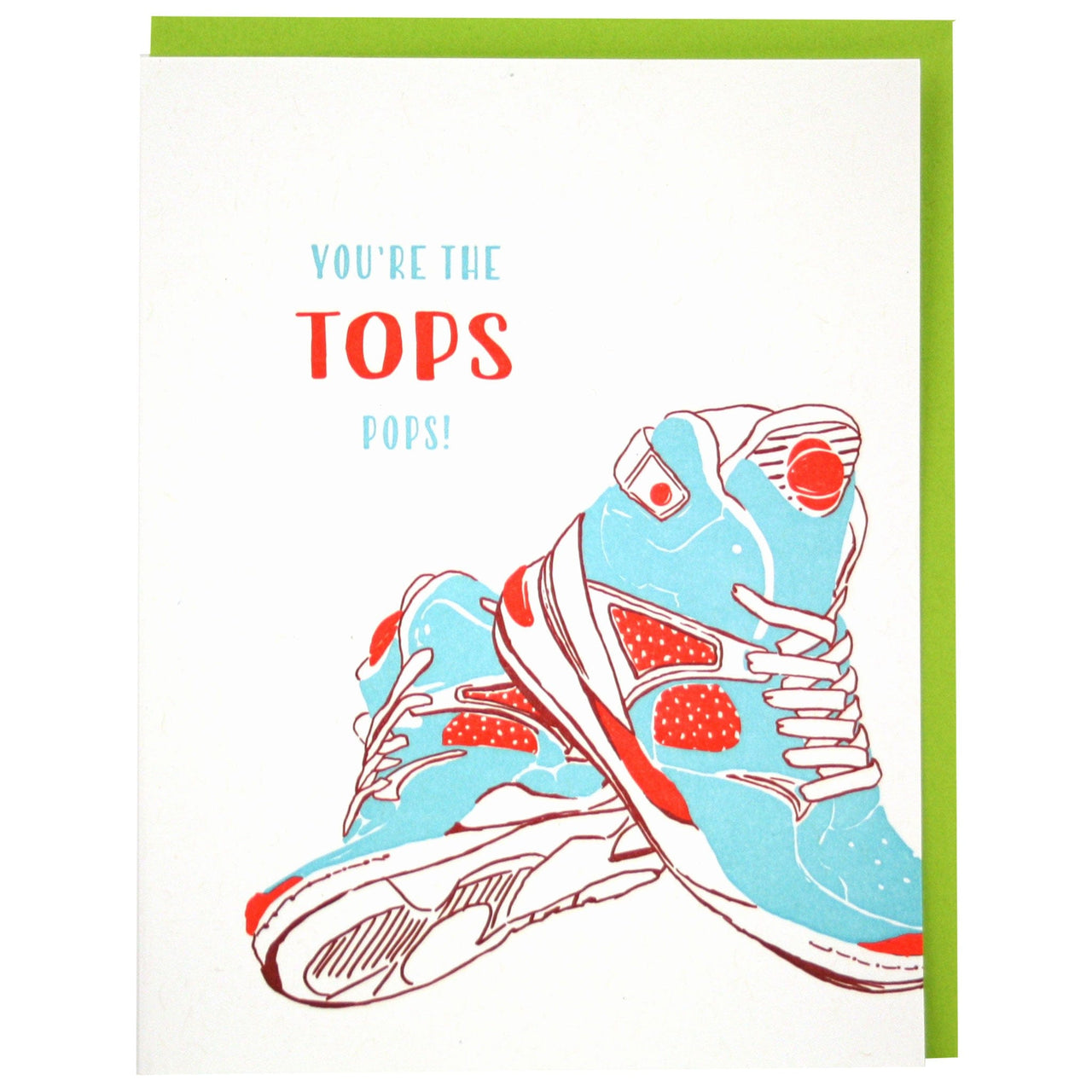 High Tops Father's Day Card