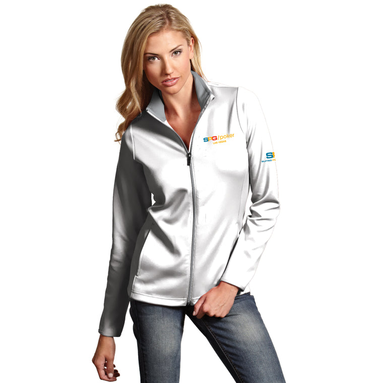 Ladies Full Zip Jacket - Suited Poker Gear