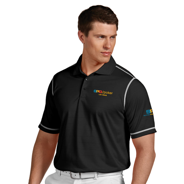 """SPG"" Icon Polo - Suited Poker Gear"