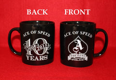 ACE OF SPEED 10th Anniversary Mug