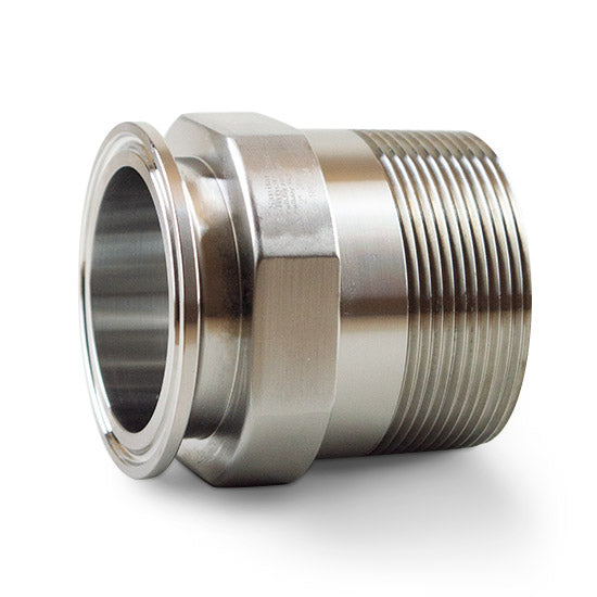 21MP - Clamp x Male NPT Adapters