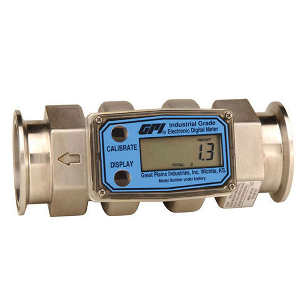 G2 Industrial Meters Stainless Steel w/ Tri-Clamp fitting