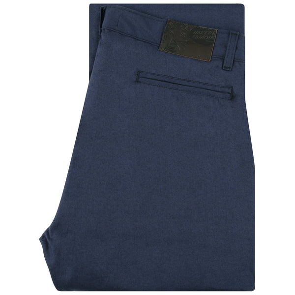 Straight Chino Navy Rinsed Oxford | Naked & Famous Denim