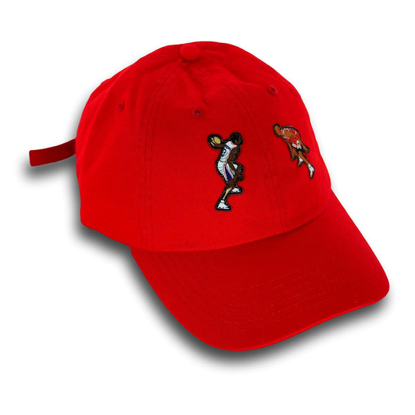 """The Crossover"" Hat (red)"