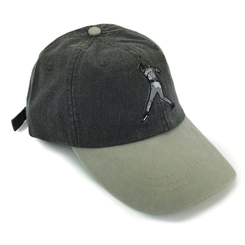 """Air Knows"" Hat (black/stone)"