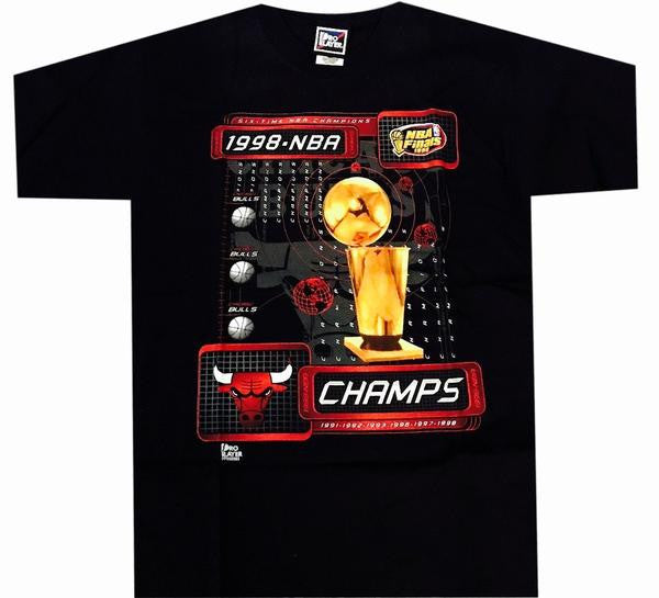 Bulls 1998 Champs Vintage Shirt - And Still