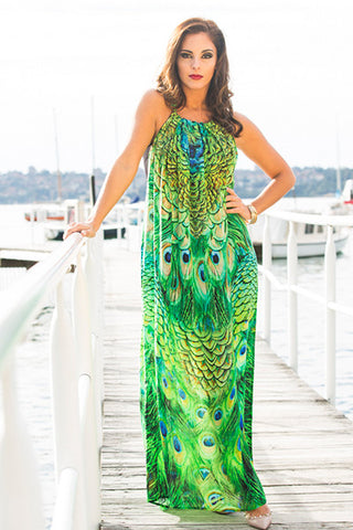 AMALFI Drawstring Dress