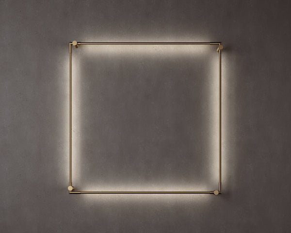 Thin Primaries Wall-Mounted Square | DSHOP